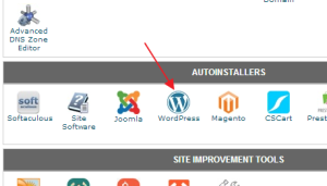 wordpress install-one-click