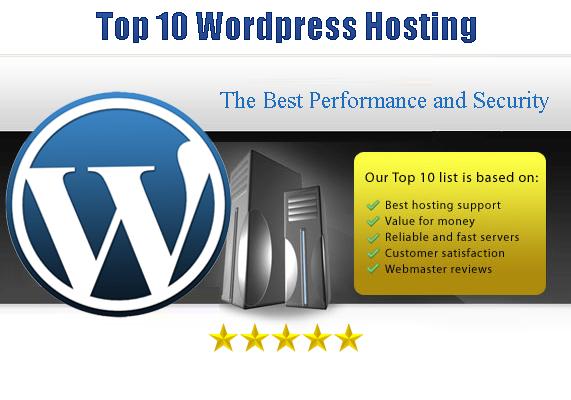 top 10 wordpress hosting