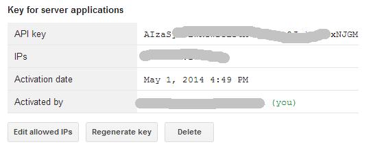 Shorten API Key