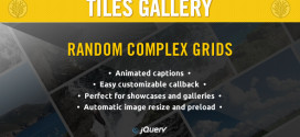 WordPress jQuery Tiles Gallery Free