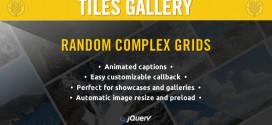 WordPress jQuery Tiles Gallery Free