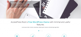 Free wordpress theme AccessPress Root